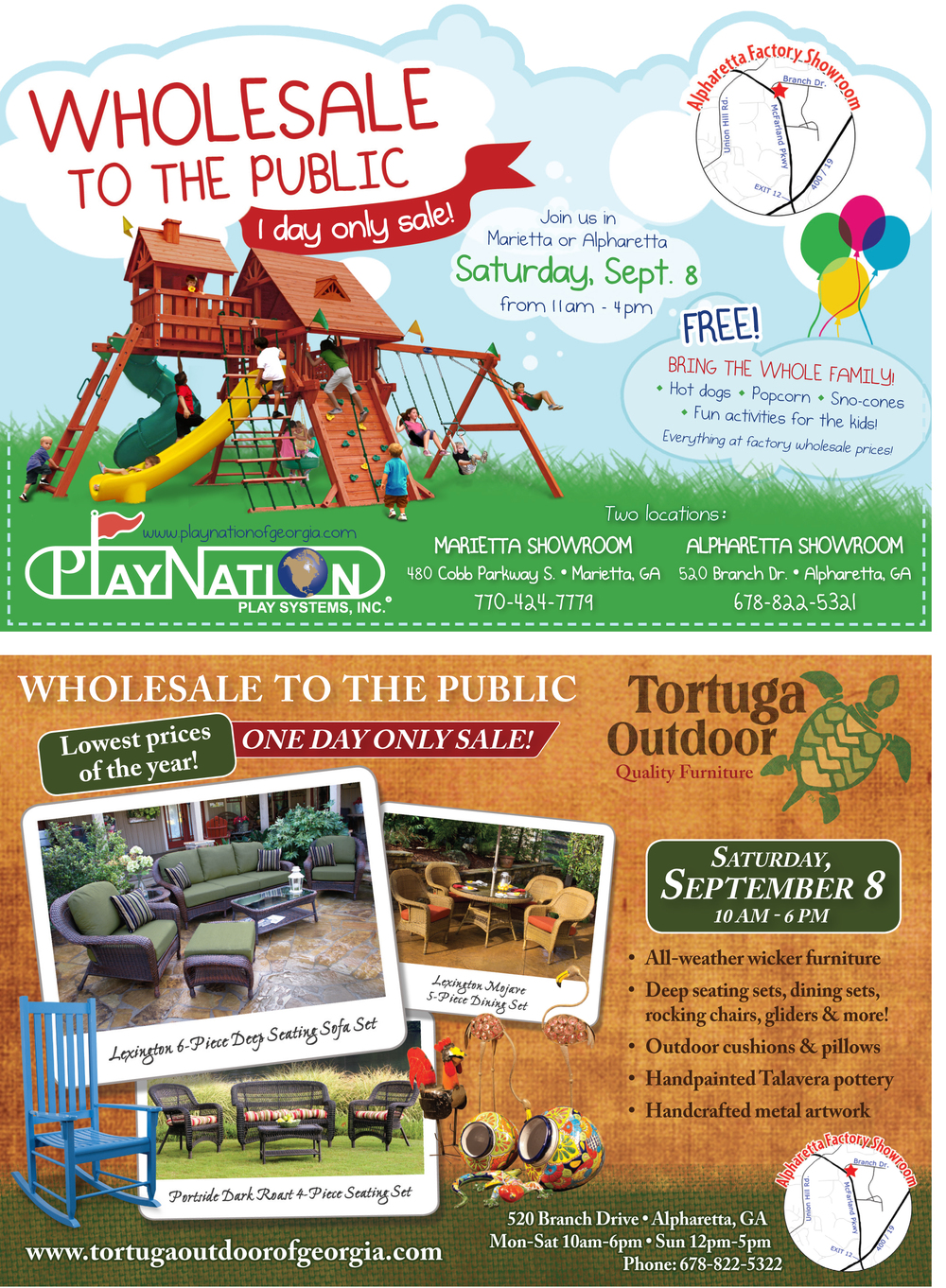 2012 playnation and tortuga annual sale ad