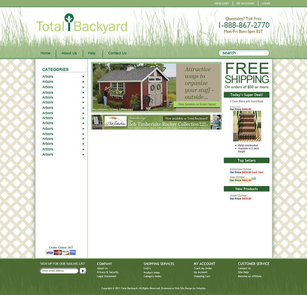 total backyard website comp