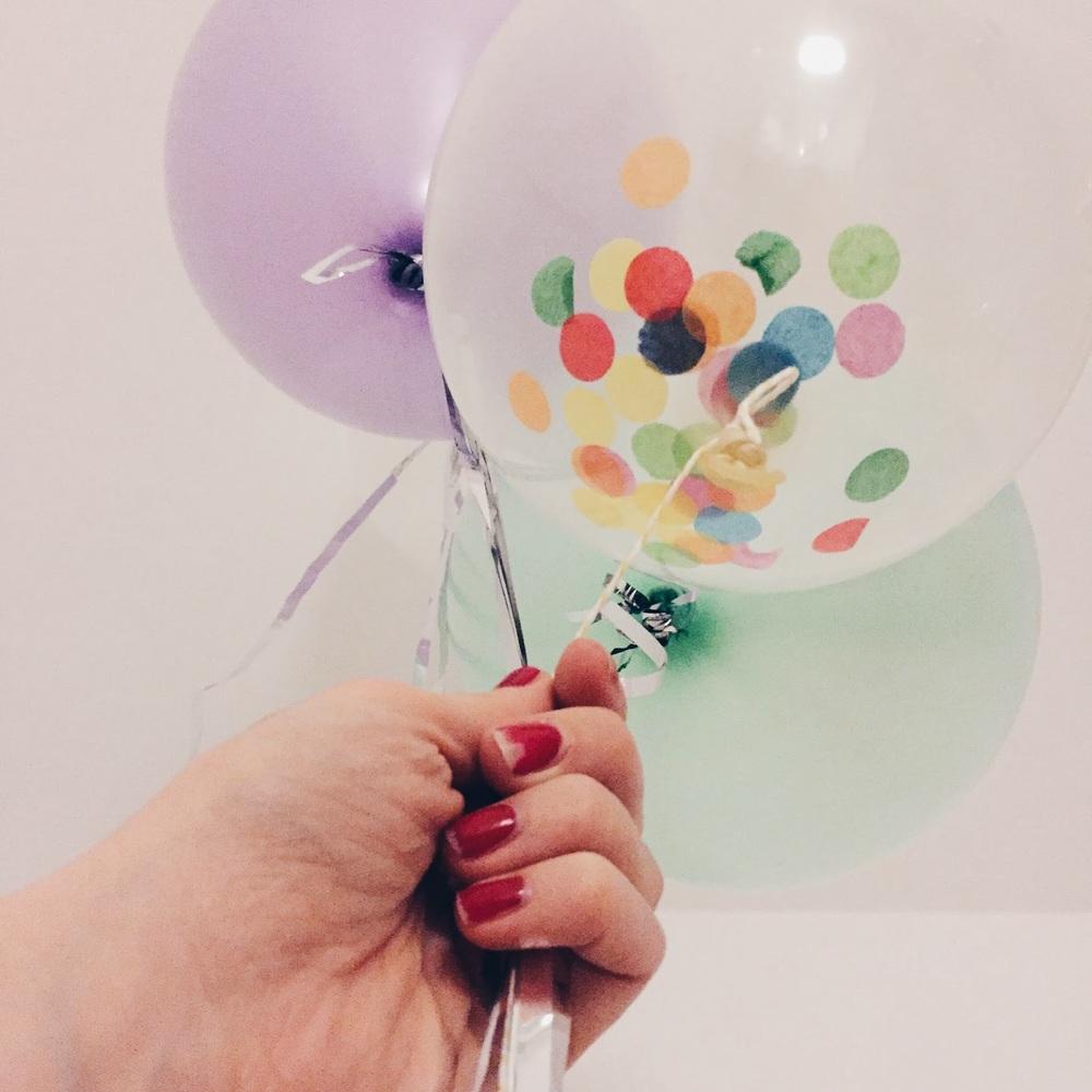 ballon dekoration bei ninotschka