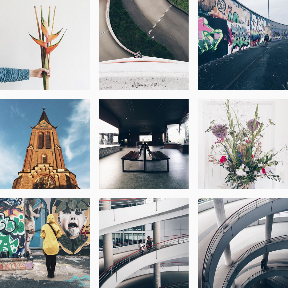 monthly instagram overview by ninotschka