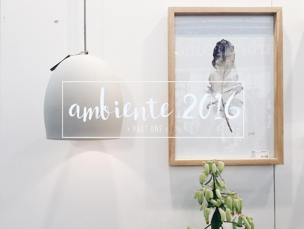 ambiente 2016 by ninotschka