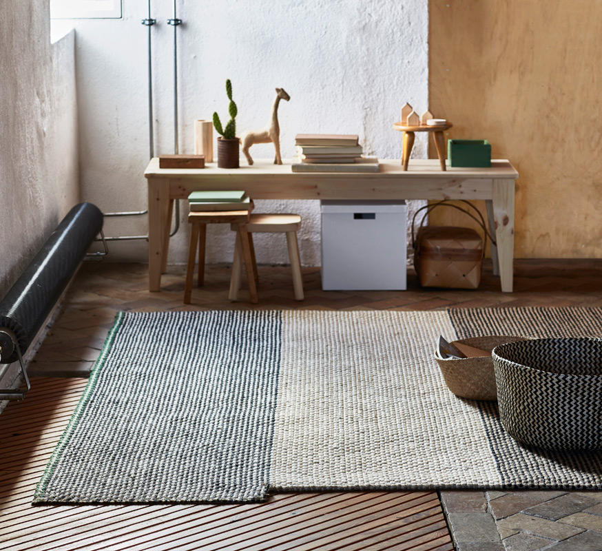 ikea sattrup teppich
