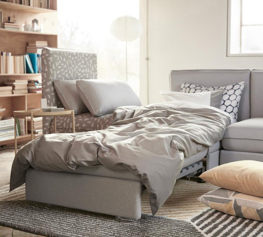 ikea sofa vallentuna grau