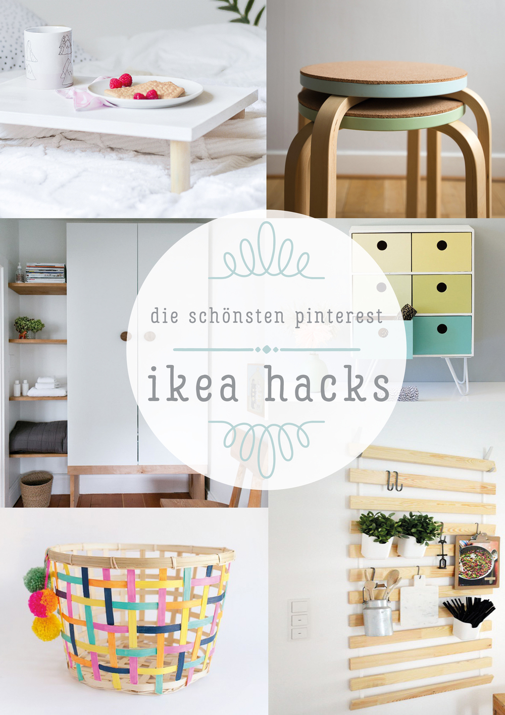 diy inspiration f r upcycler oder die sch nsten ikea hacks ninotschka. Black Bedroom Furniture Sets. Home Design Ideas