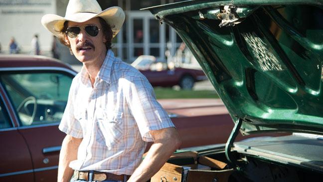 Matthew McConaughey as Ron Woodroof.