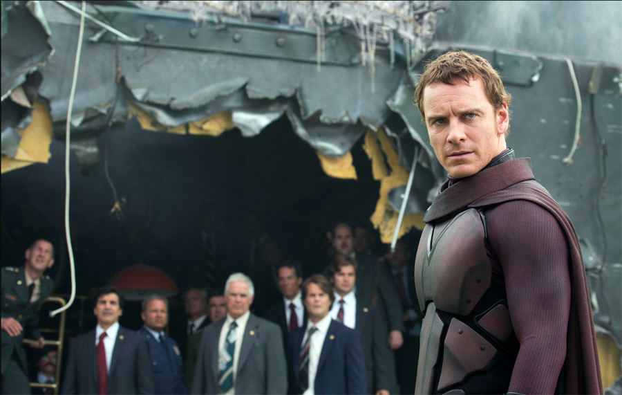 If the whole film had been Michael Fassbender as Magneto killing Nazis then I would have been really happy.