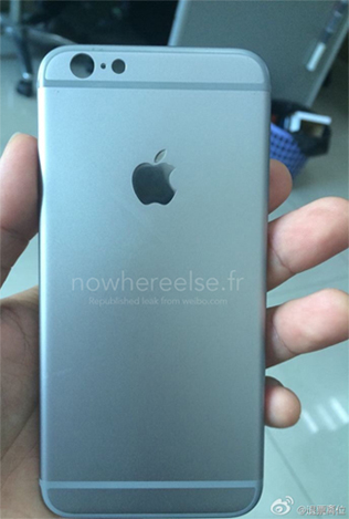 Most likely the iPhone 6 - 4.7 inch version