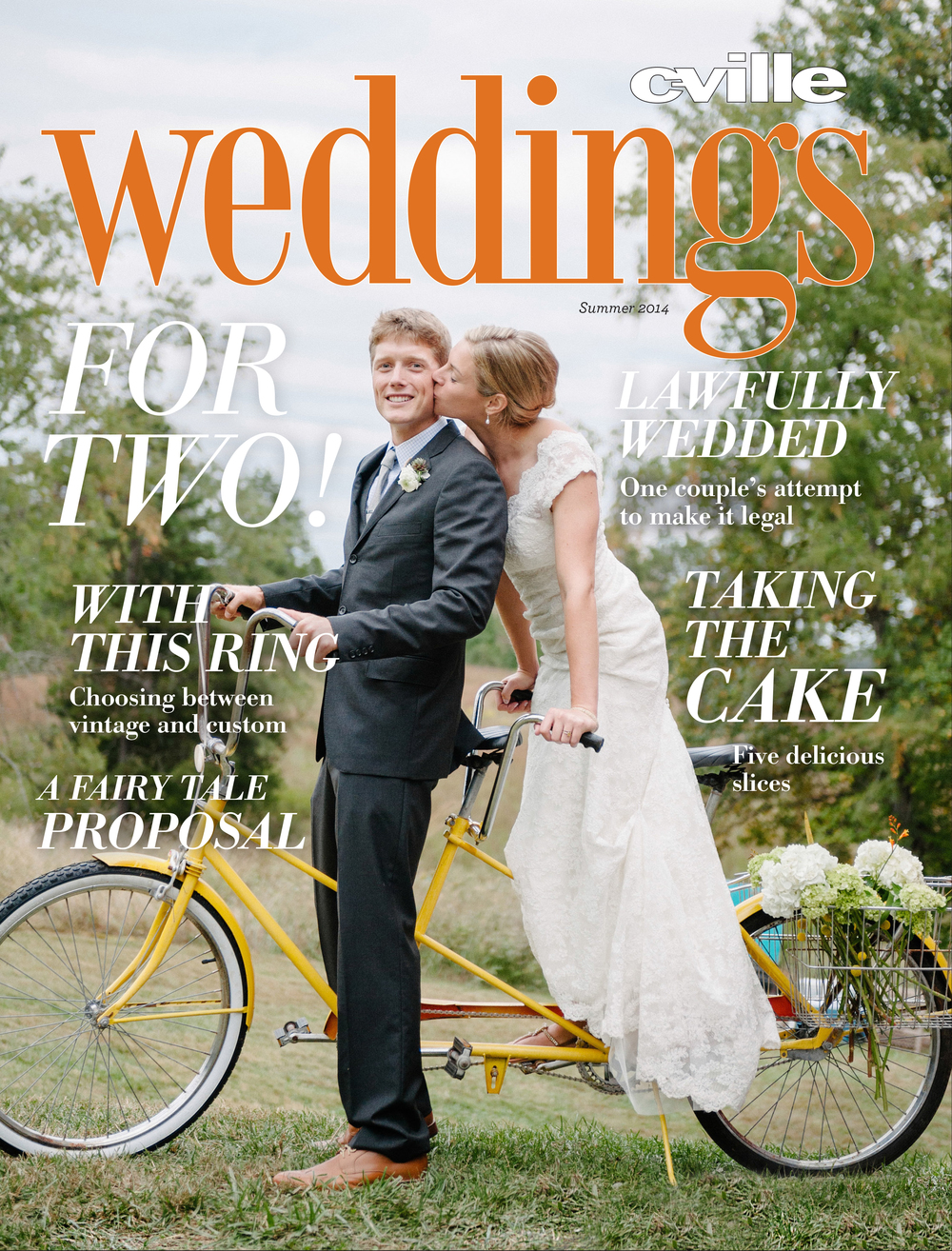 Sera Petras Photography C'ville Weddings Cover