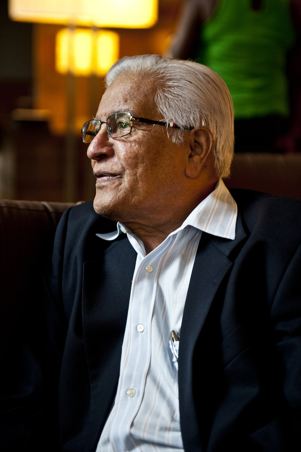 Prime Minister Basdeo Panday