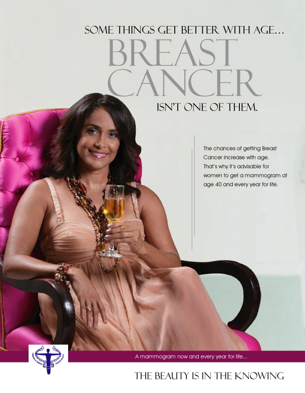 Breast Cancer Society+Miss World Giselle Jeanne-Marie Laronde