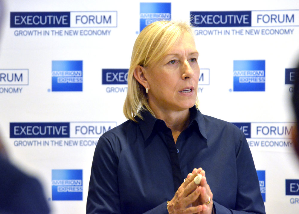 Martina Navratilova Tennis Legend