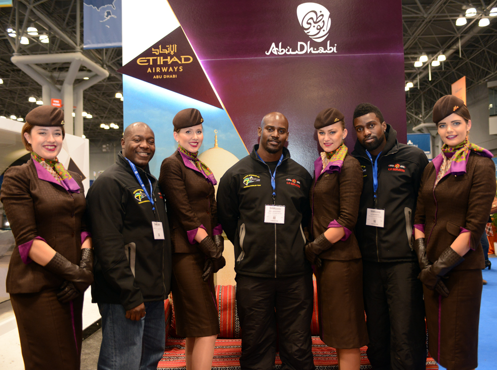 Etihad Airways+Jamaican Bobsled Team