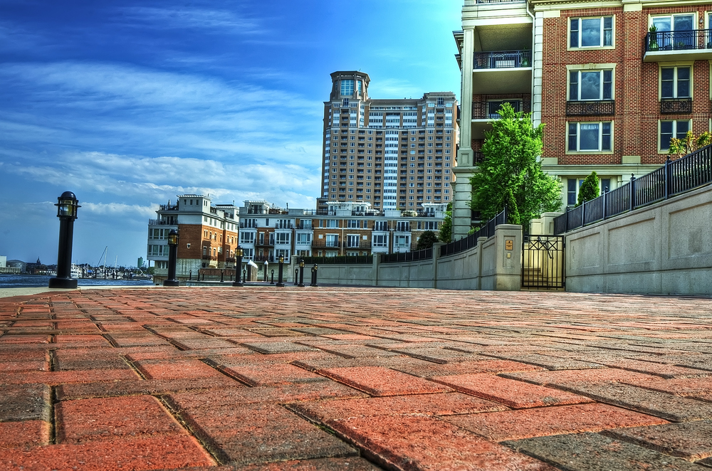 Full HDR version of Baltimore Harbor