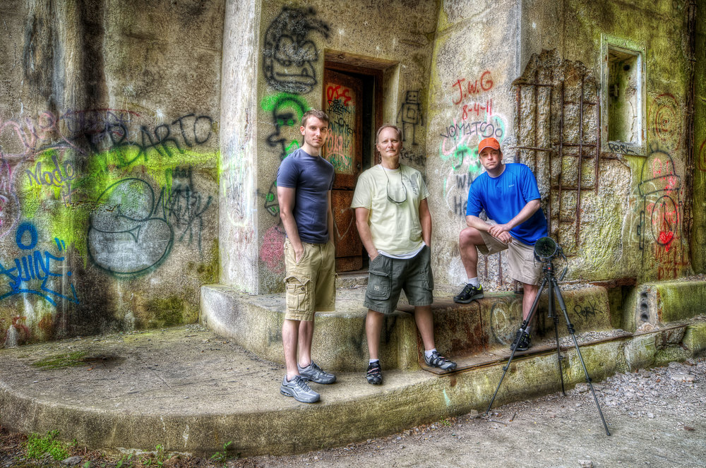The HDR Crew: Brad Truxell, Dave Truxell, & Brook Ward