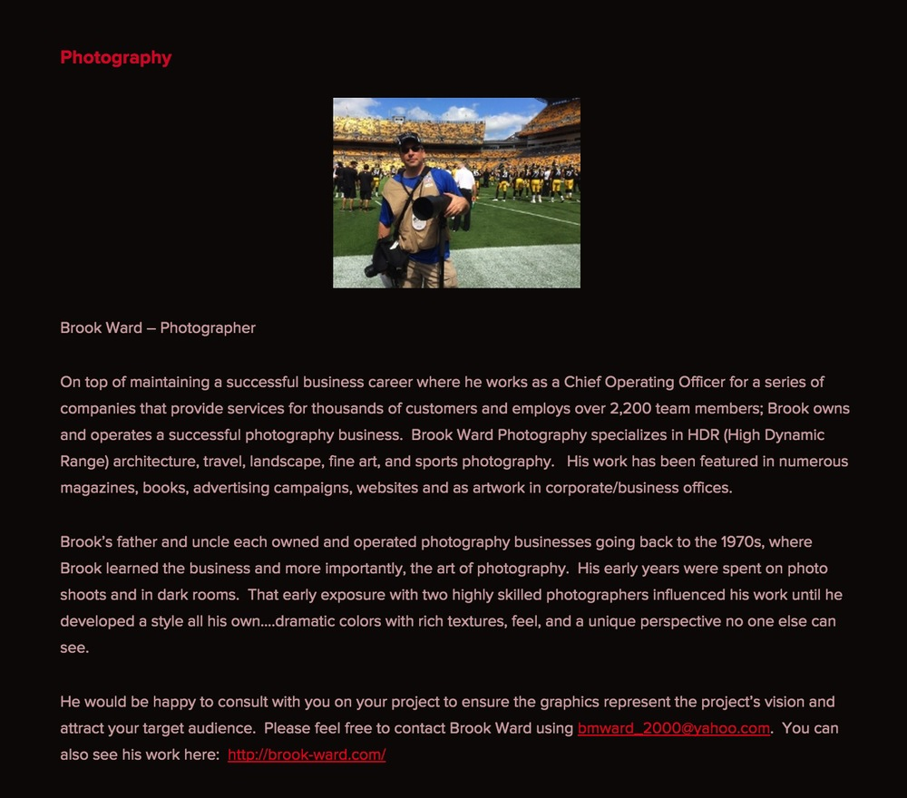 The write up about me on Percussion Publishing's website.