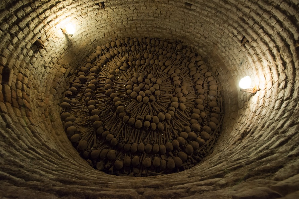 This is from the catacombs in the lower levels of the church