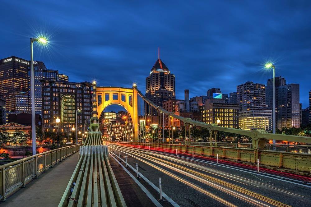 Blue Hour - Pittsburgh