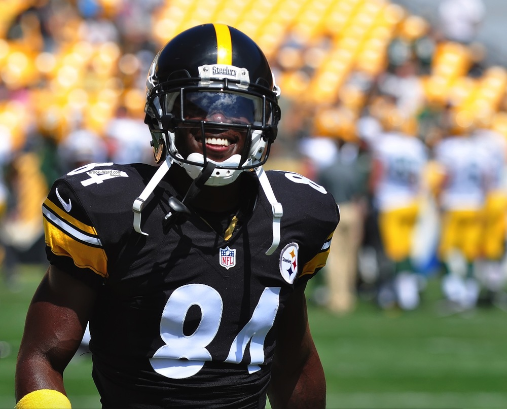 Antonio Brown - WR with the Pittsburgh Steelers