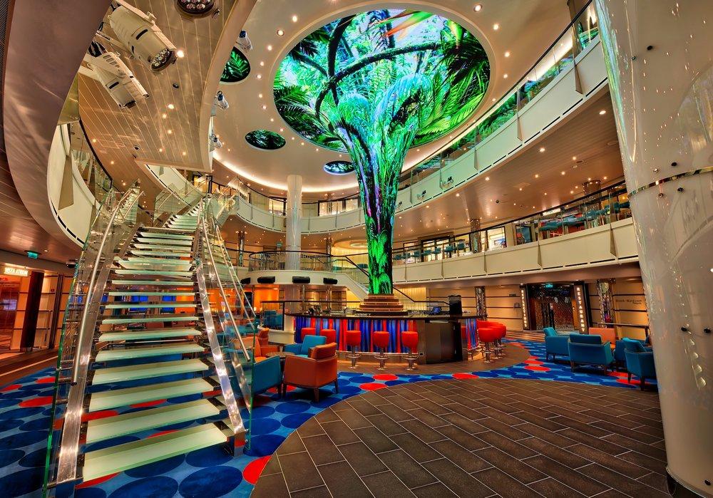 Carnival Vista Lobby
