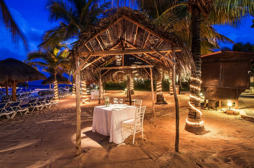 Dinner For Two In Mexico
