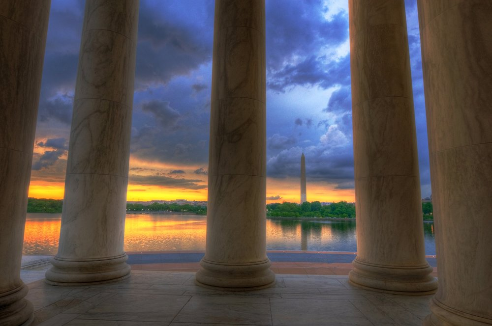 Jefferson to Washington Memorial