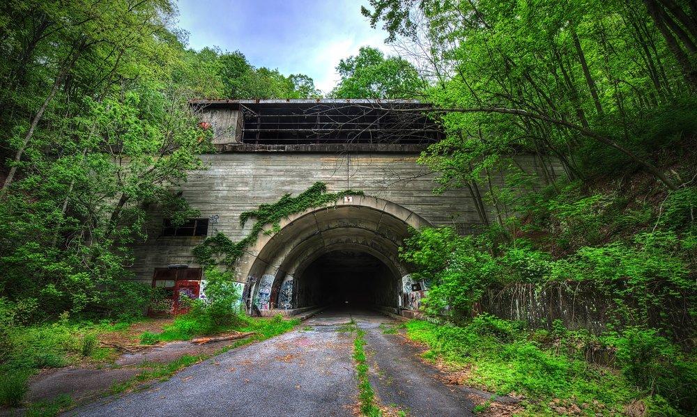 Abandoned Turnpike