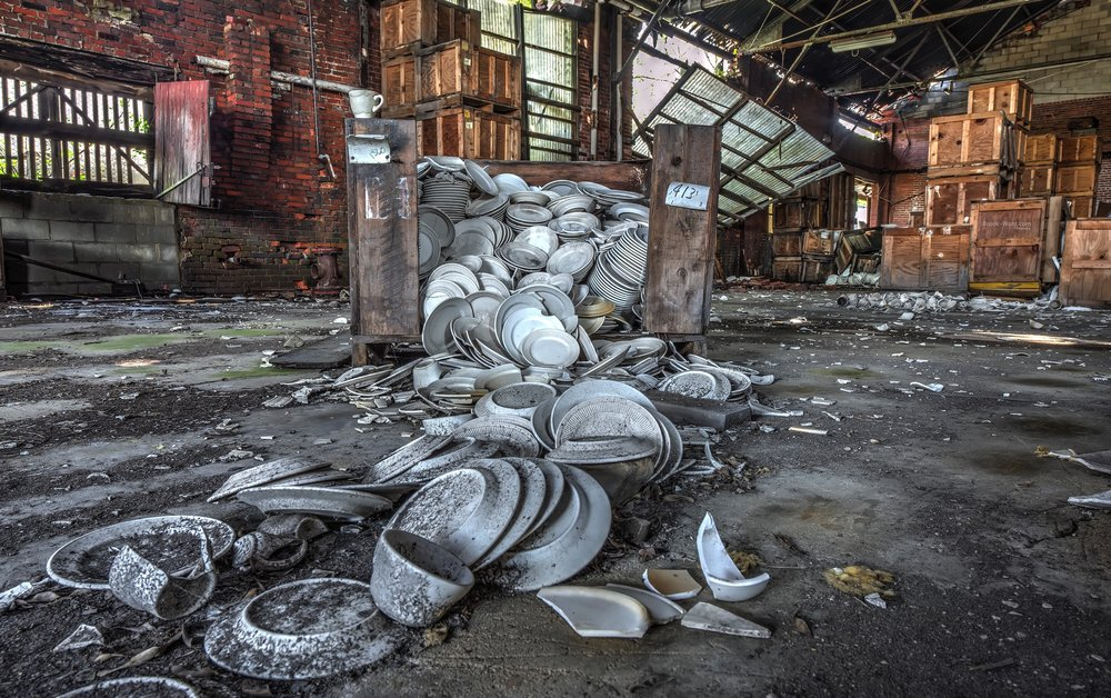 Abandoned China Factory