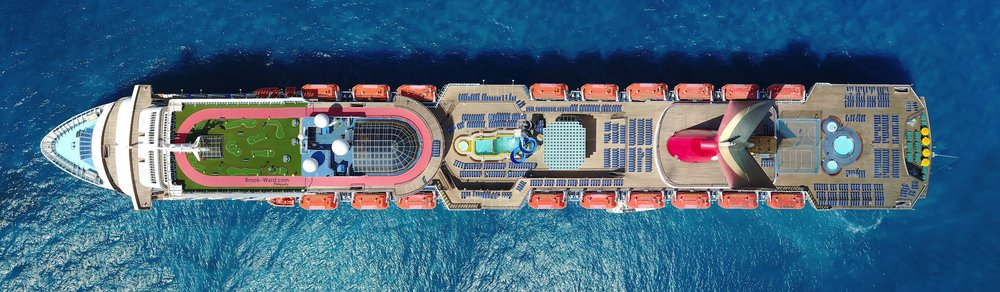 Carnival Elation's Top Decks