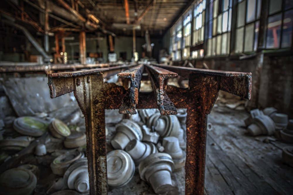 Assembly Line Abandoned