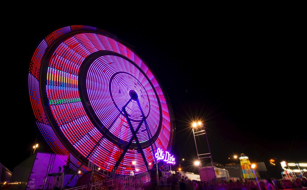 County Fair Ferris Wheel