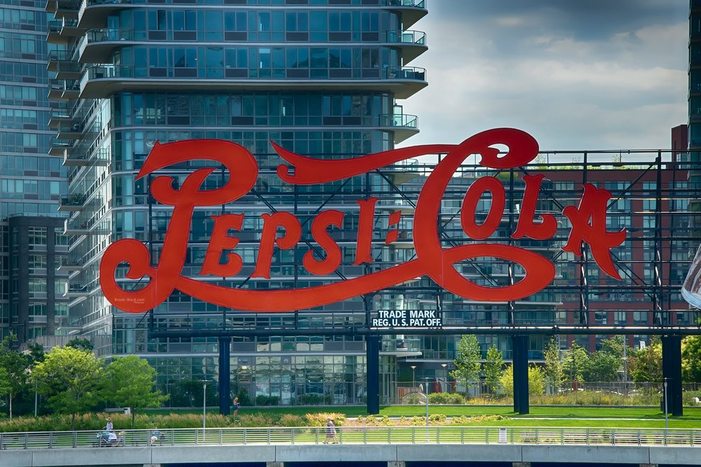 Pepsi in NYC