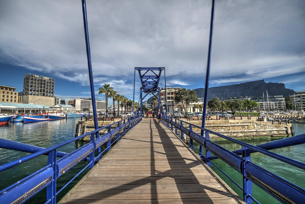 Cape Town Pedestrian Bridge