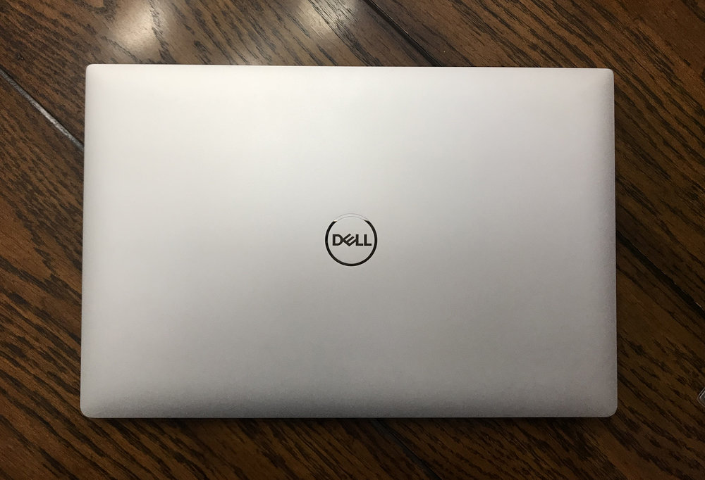 My new Dell without the skin