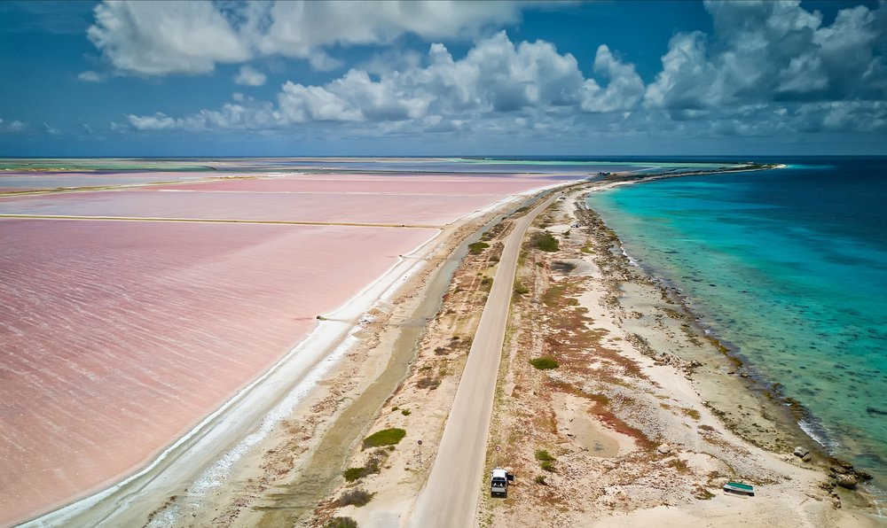 Bonaire Salt Flats