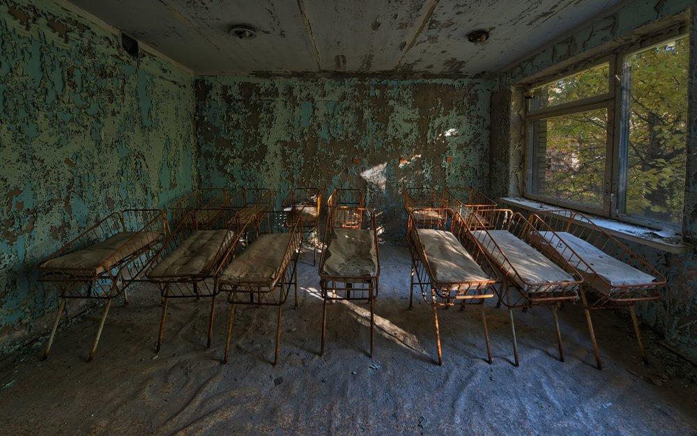 Chernobyl Hospital Nursery