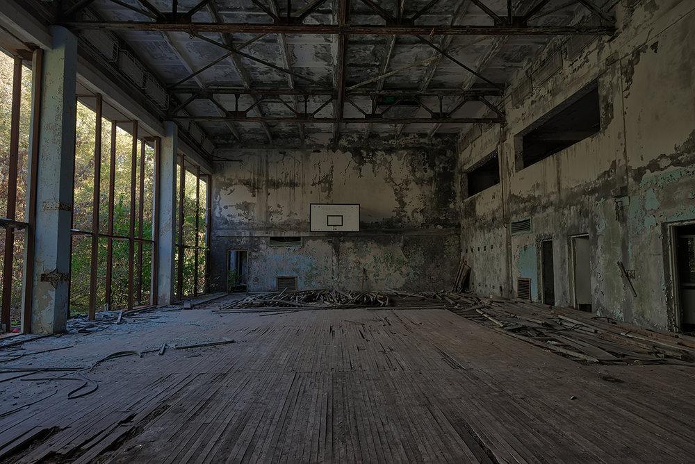 Pripyat Gym - Chernobyl
