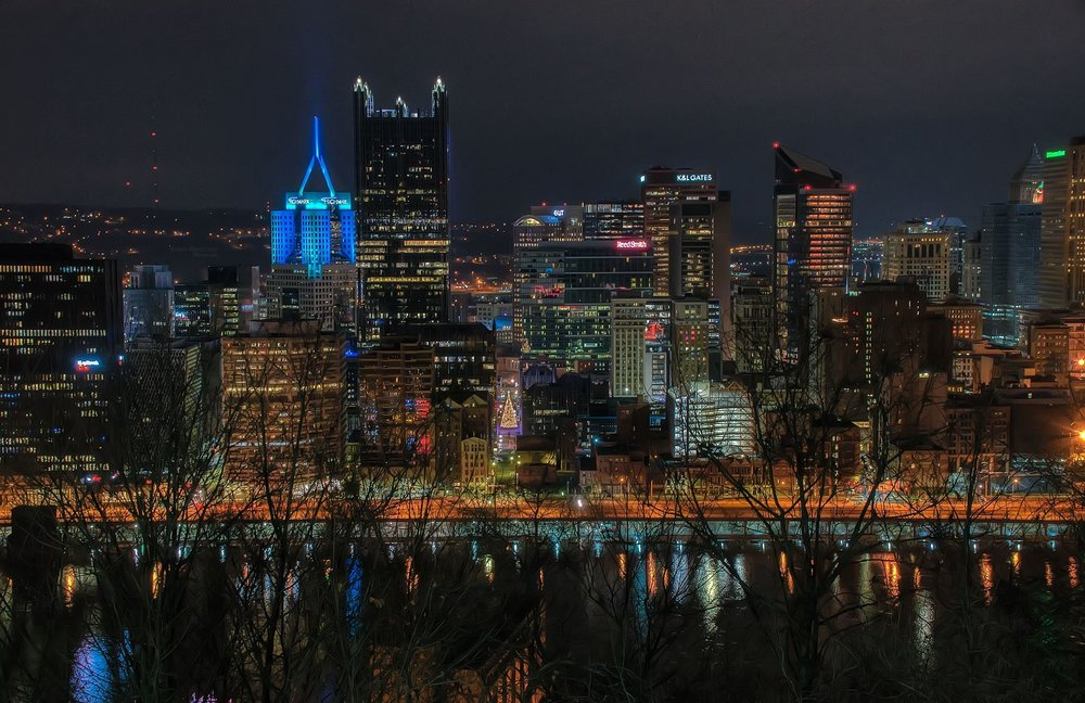 Pittsburgh at Christmas