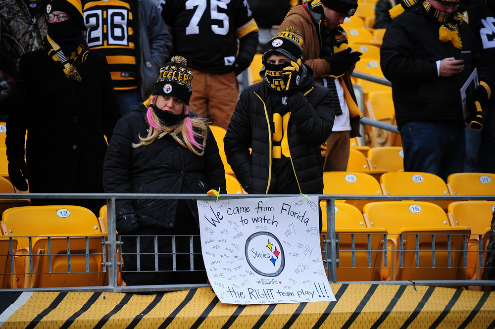 Steelers' Fans Travel Great Distances