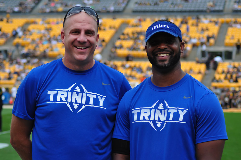Trinity youth football team coaches