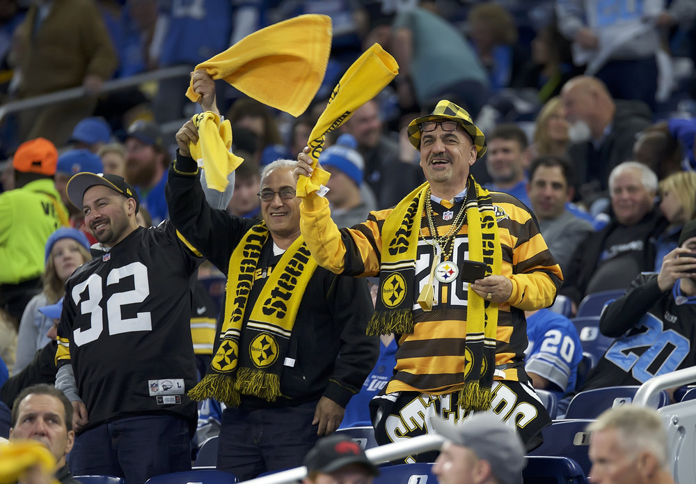 Steelers' Fans Traveled To Detroit