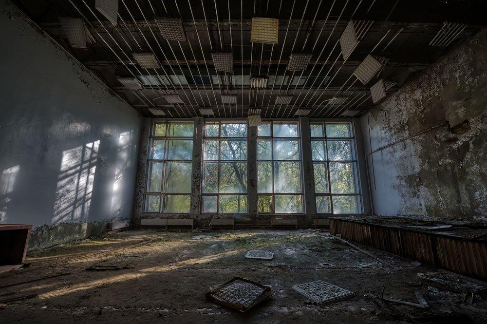 Chernobyl - Pripyat Cultural Center