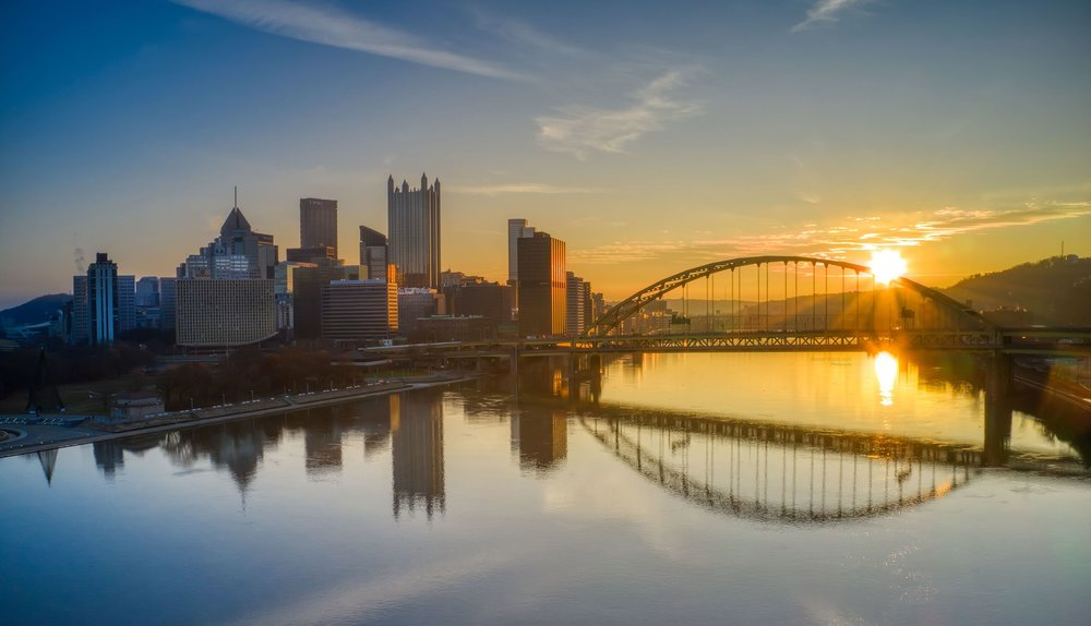 Fort Pitt Bridge and The City