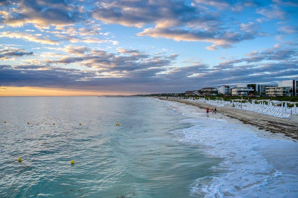 Sunrise Over The Beach - Cancun