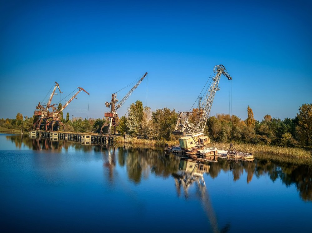 Chernobyl Cranes