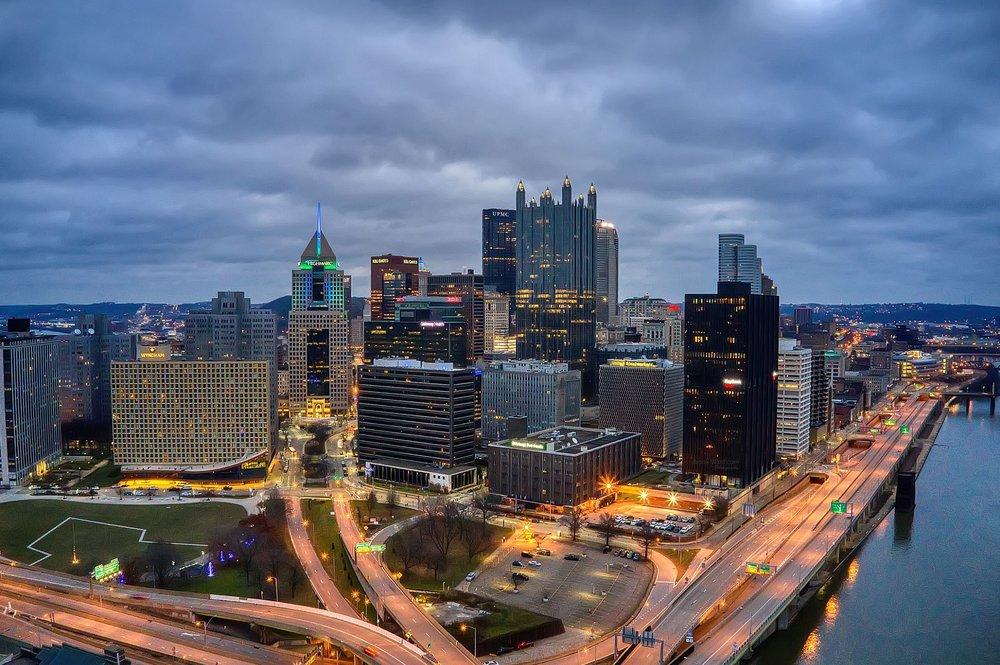 Downtown Pitt