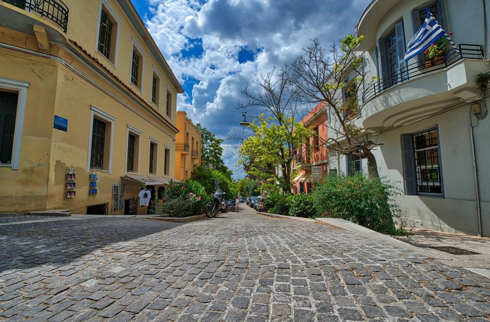 Athens Alley