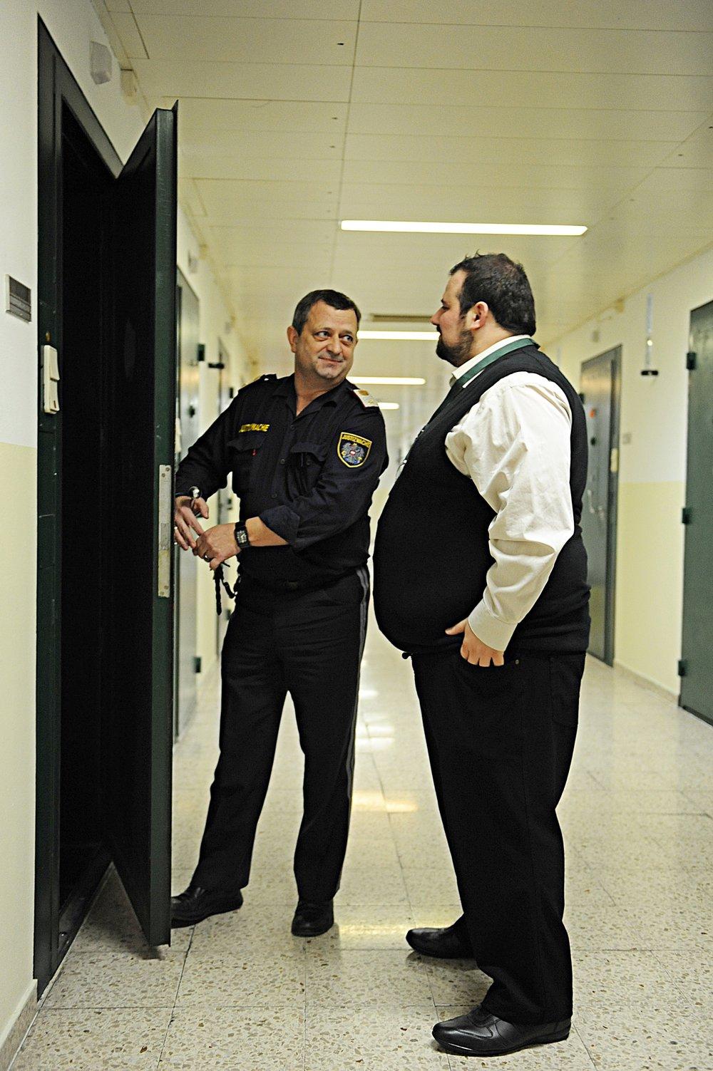 Ramazans Arbeit wird in der Justizanstalt Josefstadt sehr geschätzt und Respektiert.
