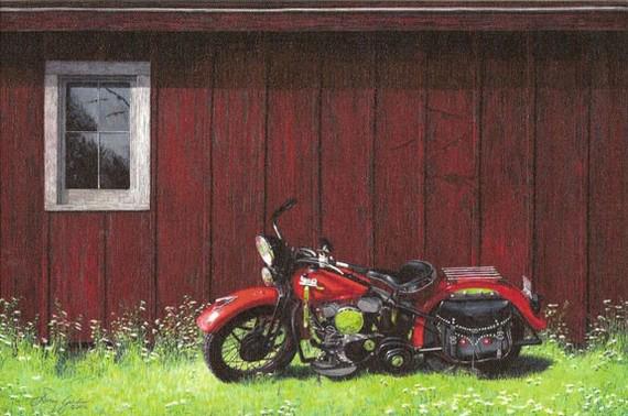 Motobike & Barn.jpg
