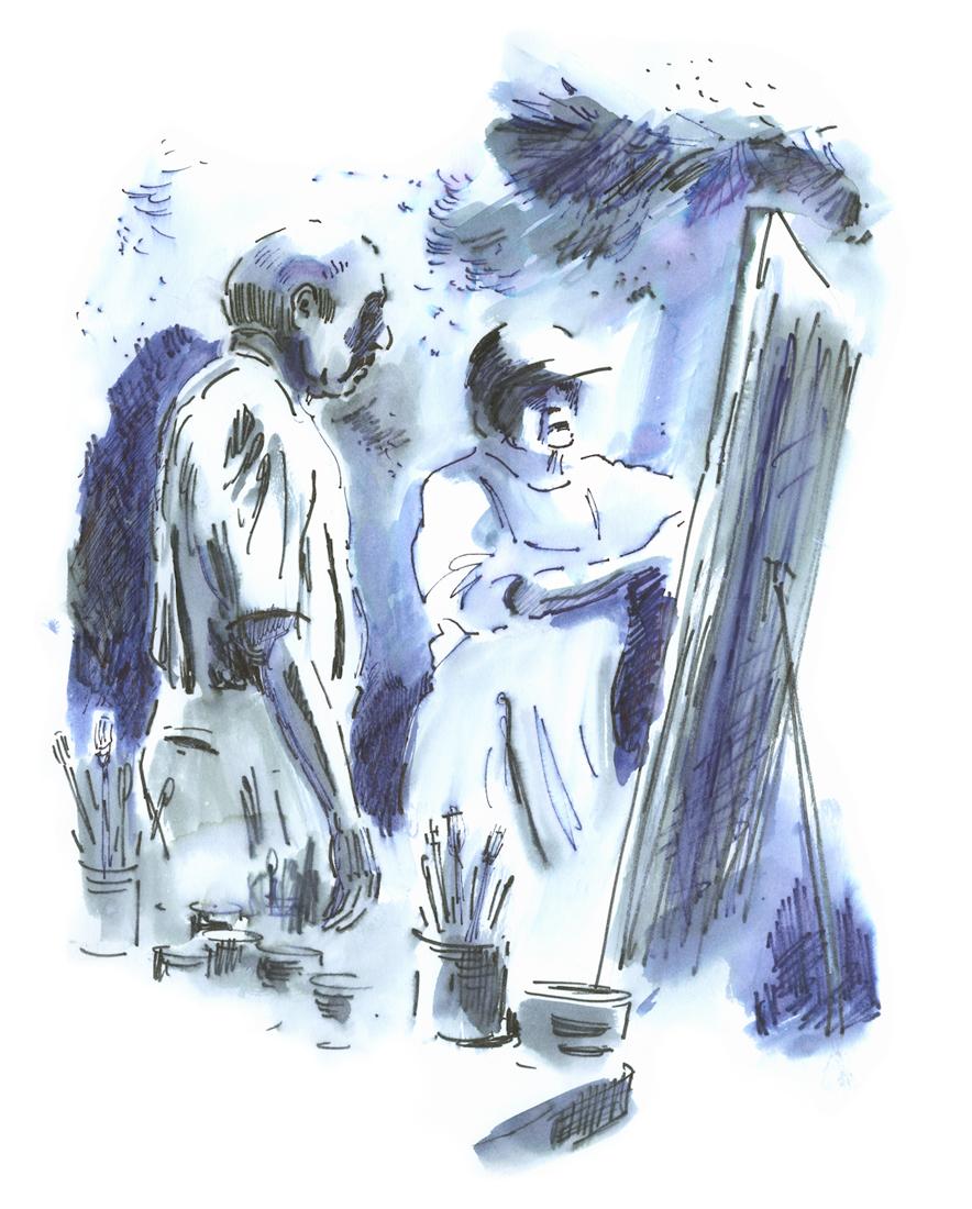 Appel-Two Painters 11.03 w x 13.73 h.jpg