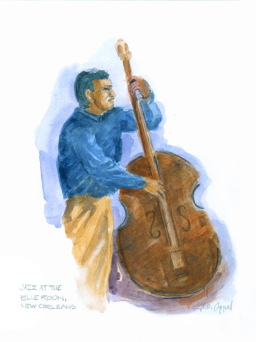 Geo Appel Jazz @ blue Room Bass Man .jpg